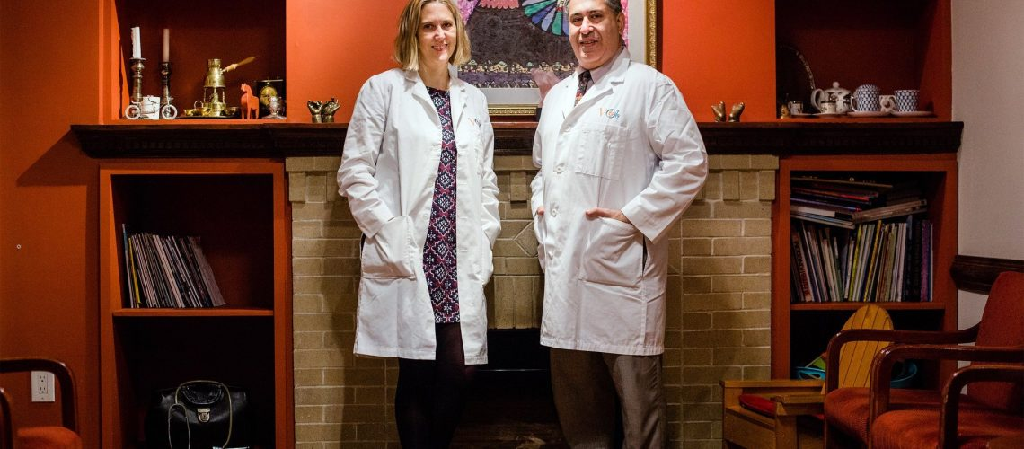 Drs. Jaqueline Worth and George Mussalli have started a new midwifery practice, Village Maternity, which is working in partnership with Metropolitan Hospital.